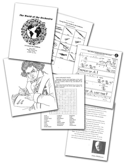 cover of teaching packet
